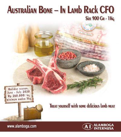 Australian Bone-In Lamb Rack CFO